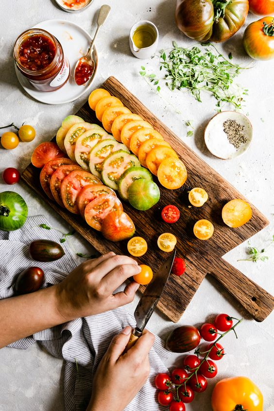 ผักและผลไม้เพื่อผิวสวย